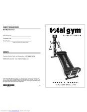 total gym exercise manual free download