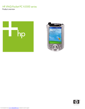 hp ipaq h1940 pocket pc manual