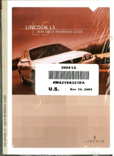 2005 lincoln ls owners manual download