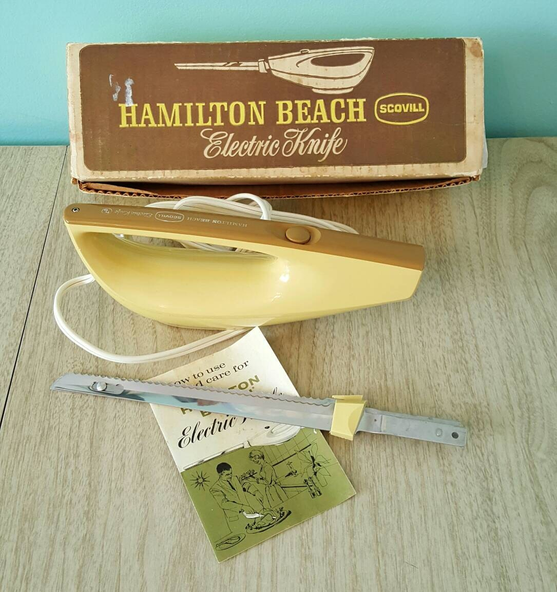 hamilton beach scovill electric knife model 275 manual